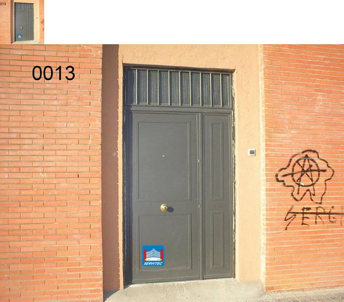 Portones de portal puertas de portal cerrajeros en - Puertas en fuenlabrada ...