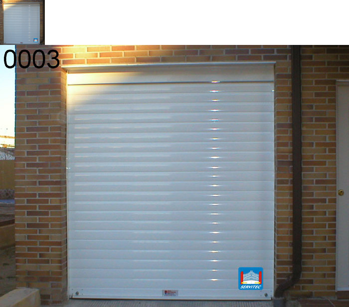 Puertas de garaje puertas seccionales cerrajeros en - Puertas en fuenlabrada ...