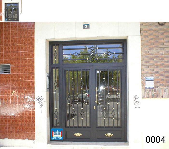Puertas de forja cerramientos puertas de forja en madrid for Imagenes de puertas de hierro